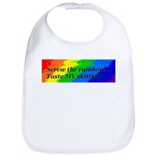 Funny Taste the rainbow Bib