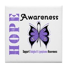 Hodgkin's Lymphoma Hope Tile Coaster