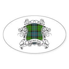 Stirling Tartan Shield Decal
