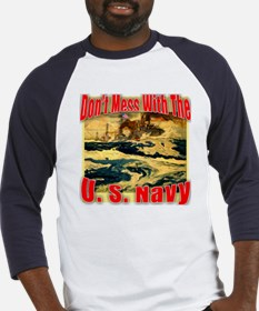 Don't Mess With the U.S. Navy Baseball Jersey