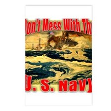 Don't Mess With the U.S. Navy Postcards (Package o