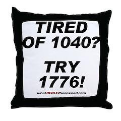 1040-1776 Throw Pillow