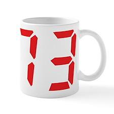 73 seventy-three red alarm cl Mug