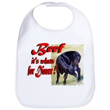Beef it's whats for Dinner Bib