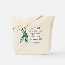 Autism Epidemic Tote Bag