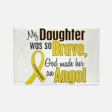 Angel 1 DAUGHTER Child Cancer Rectangle Magnet