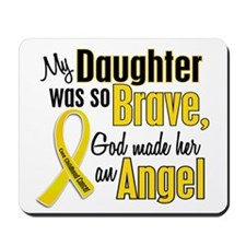 Angel 1 DAUGHTER Child Cancer Mousepad