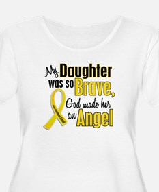Angel 1 DAUGHTER Child Cancer T-Shirt