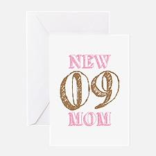 New Mom 09 Greeting Card