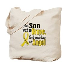 Angel 1 SON Child Cancer Tote Bag