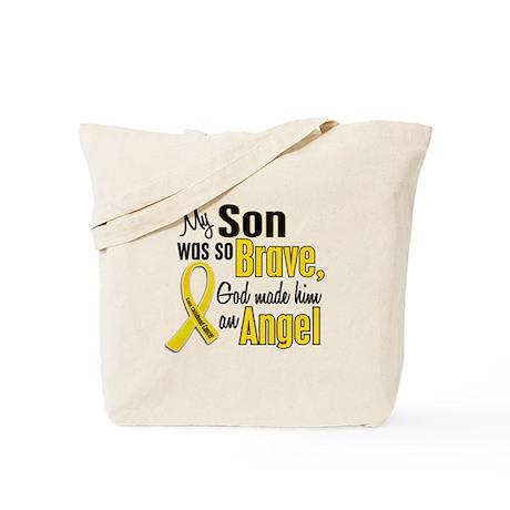 Angel 1 SON Child Cancer Tote Bag