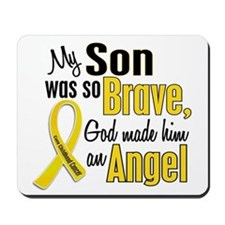 Angel 1 SON Child Cancer Mousepad