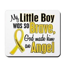 Angel 1 LITTLE BOY Child Cancer Mousepad