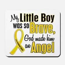 Angel 1 LITTLE BOY Child Cancer Mousepad