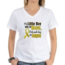Angel 1 LITTLE BOY Child Cancer Shirt