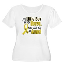 Angel 1 LITTLE BOY Child Cancer T-Shirt