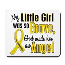 Angel 1 LITTLE GIRL Child Cancer Mousepad