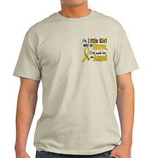 Angel 1 LITTLE GIRL Child Cancer T-Shirt