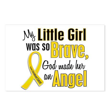 Angel 1 LITTLE GIRL Child Cancer Postcards (Packag