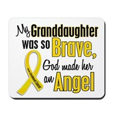 Angel 1 GRANDDAUGHTER Child Cancer Mousepad