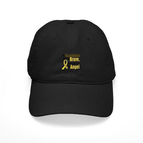 Angel 1 GRANDDAUGHTER Child Cancer Black Cap