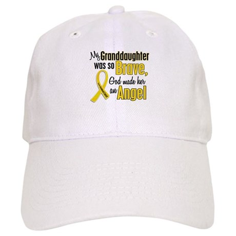 Angel 1 GRANDDAUGHTER Child Cancer Cap