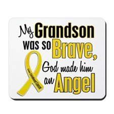 Angel 1 GRANDSON Child Cancer Mousepad