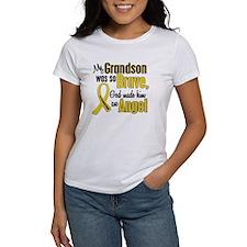 Angel 1 GRANDSON Child Cancer Tee