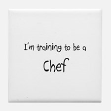 I'm training to be a Chef Tile Coaster
