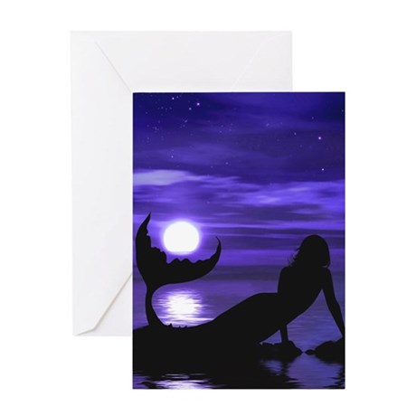 A Mermaid's Wish Greeting Card