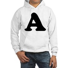 Large Letter A Hoodie