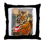 Roy the Tiger Throw Pillow