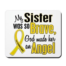 Angel 1 SISTER Child Cancer Mousepad
