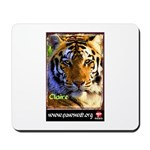 Claire the Tiger Mousepad