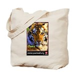 Claire the Tiger Tote Bag