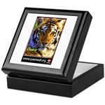 Claire the Tiger Keepsake Box