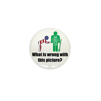 What's wrong? Mini Button (100 pack)