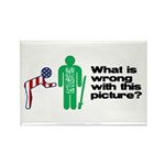 What's wrong? Rectangle Magnet (100 pack)