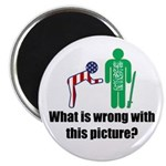 """What's wrong? 2.25"""" Magnet (100 pack)"""