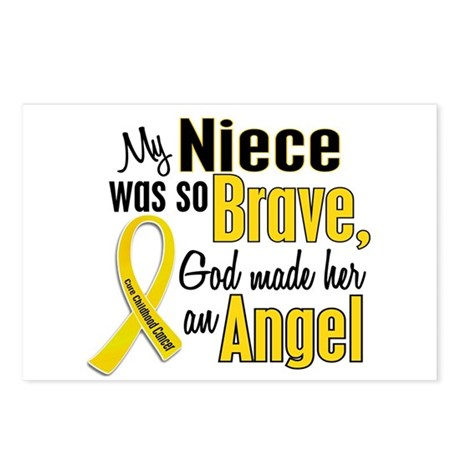 Angel 1 NIECE Child Cancer Postcards (Package of 8