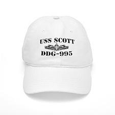 USS SCOTT Cap