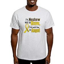 Angel 1 NEPHEW Child Cancer T-Shirt