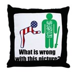 What's wrong? Throw Pillow