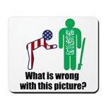 What's wrong? Mousepad