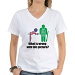 What's wrong? Women's V-Neck T-Shirt