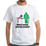 What's wrong? White T-Shirt