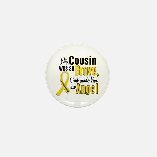 Angel 1 COUSIN Child Cancer Mini Button
