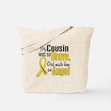 Angel 1 COUSIN Child Cancer Tote Bag