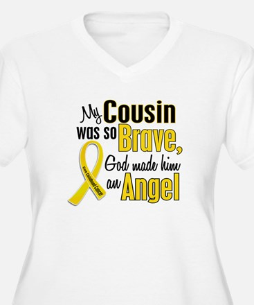 Angel 1 COUSIN Child Cancer T-Shirt