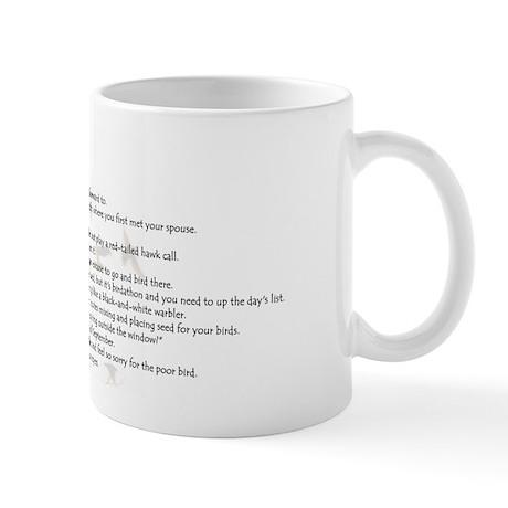 You Might Be A Birder Mug